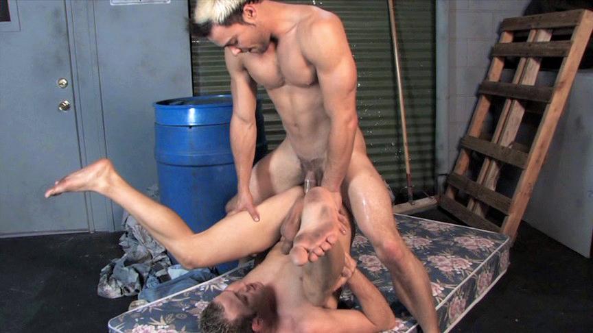Nelson Troy, Orlando Dawson in Fuck Machine - Bromo Milf delivery man