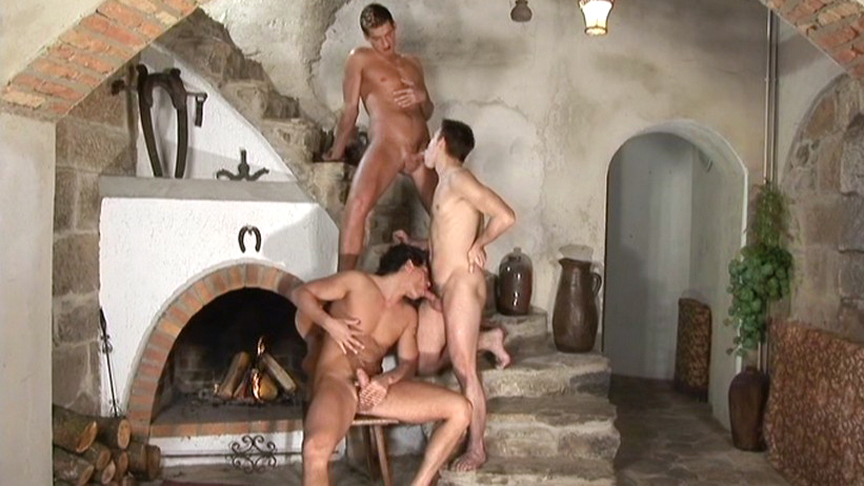 Andy Frakes, Enrico Dickens, Gery Rake, Jay Renfro in Inside Andy scene 3 - Bromo Sg dating websites