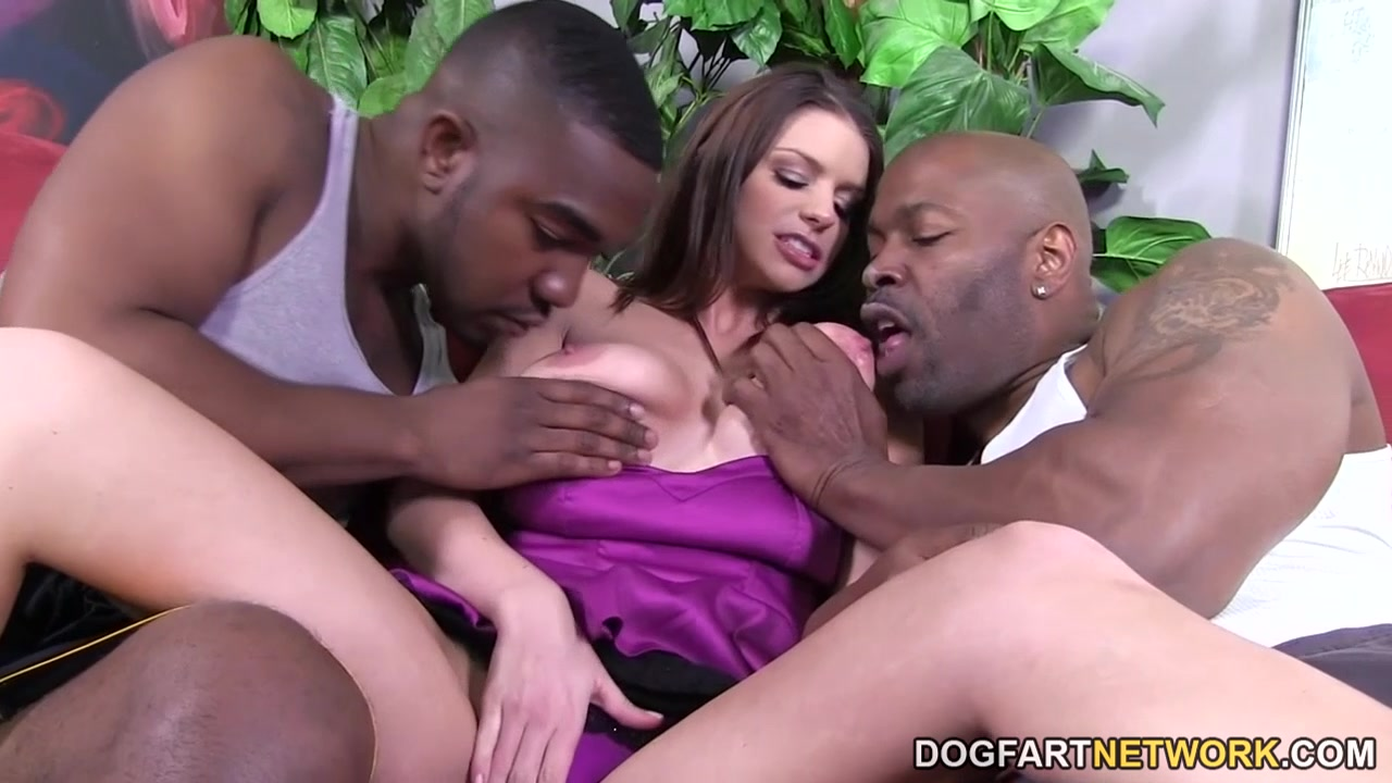 Brooklyn Chase Takes Two BBCs Hot girl nice ass porn