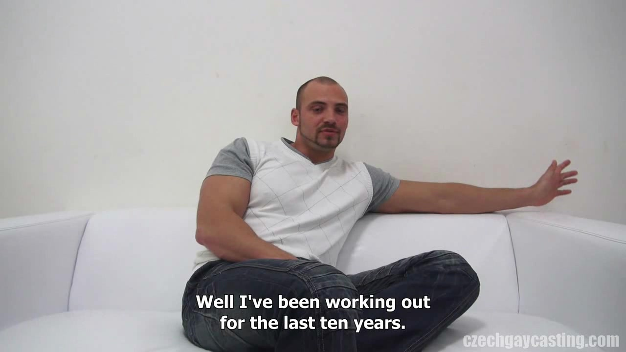 CZECH GAY CASTING - ERIK (3490) Butt fuck tranny video
