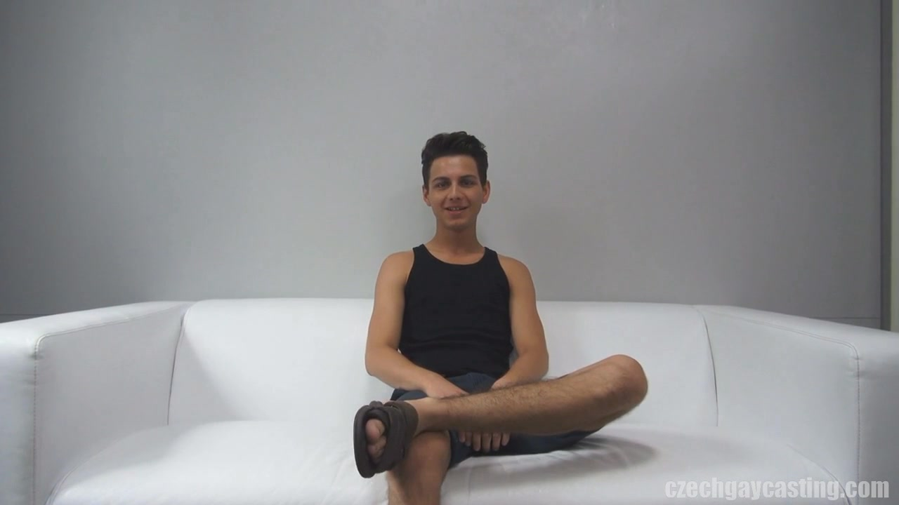 CZECH GAY CASTING - DANIEL (2209) Supper fine shaved nudes