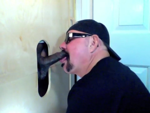A Chocolate Visits The Gloryhole and Cums - GloryholeHookups Best exercise for couples