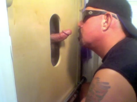 Two Cocks At The Gloryhole Get Sucked - GloryholeHookups Fur hat milf gets ass fucked