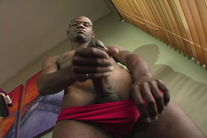 Young Tyreice Wells Beats Off - HotBoyUsa gay big cock sex movie