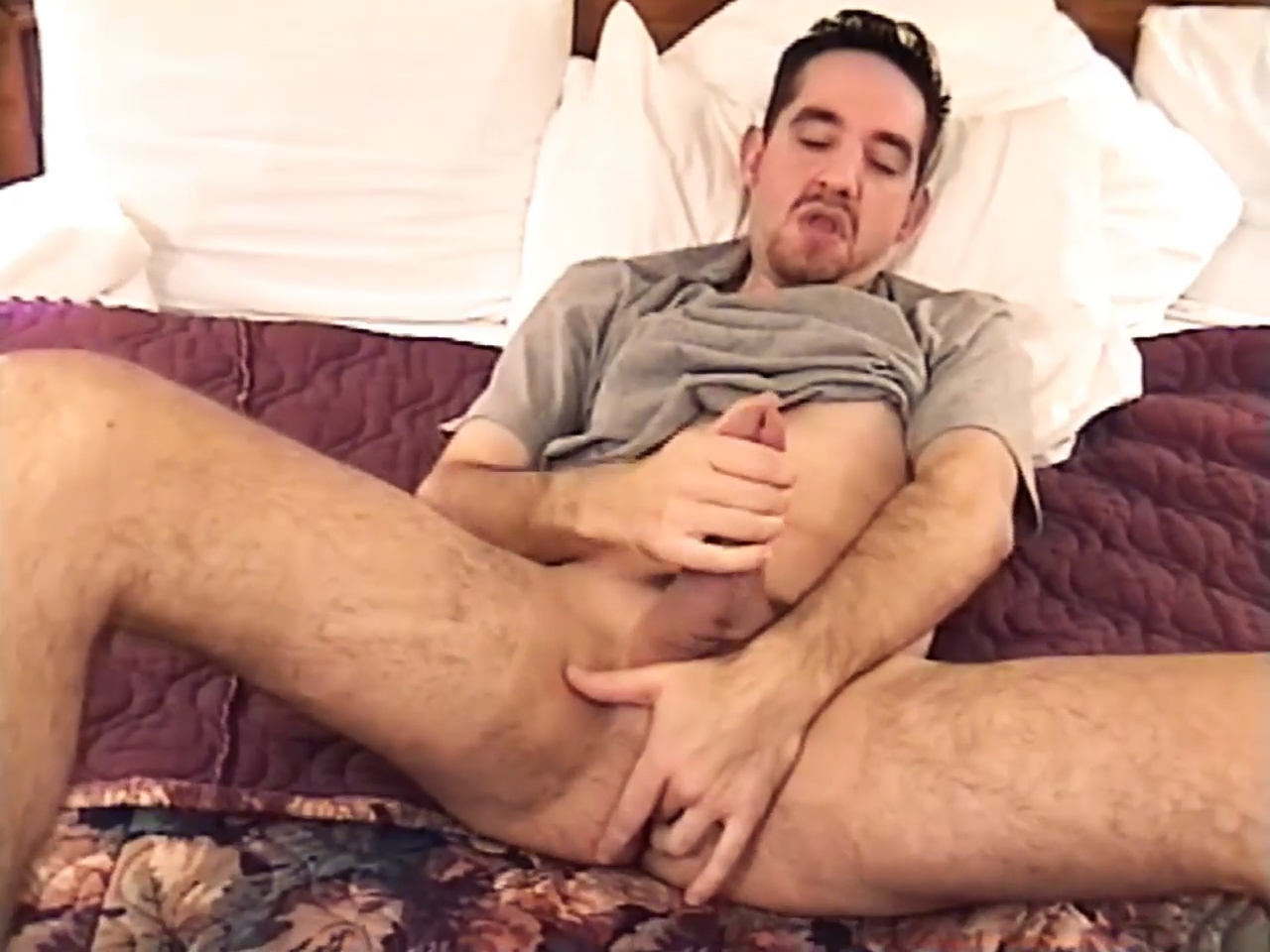 Young Amateur Charles Jerks Off - RamjetVideo Hustler omg boobs