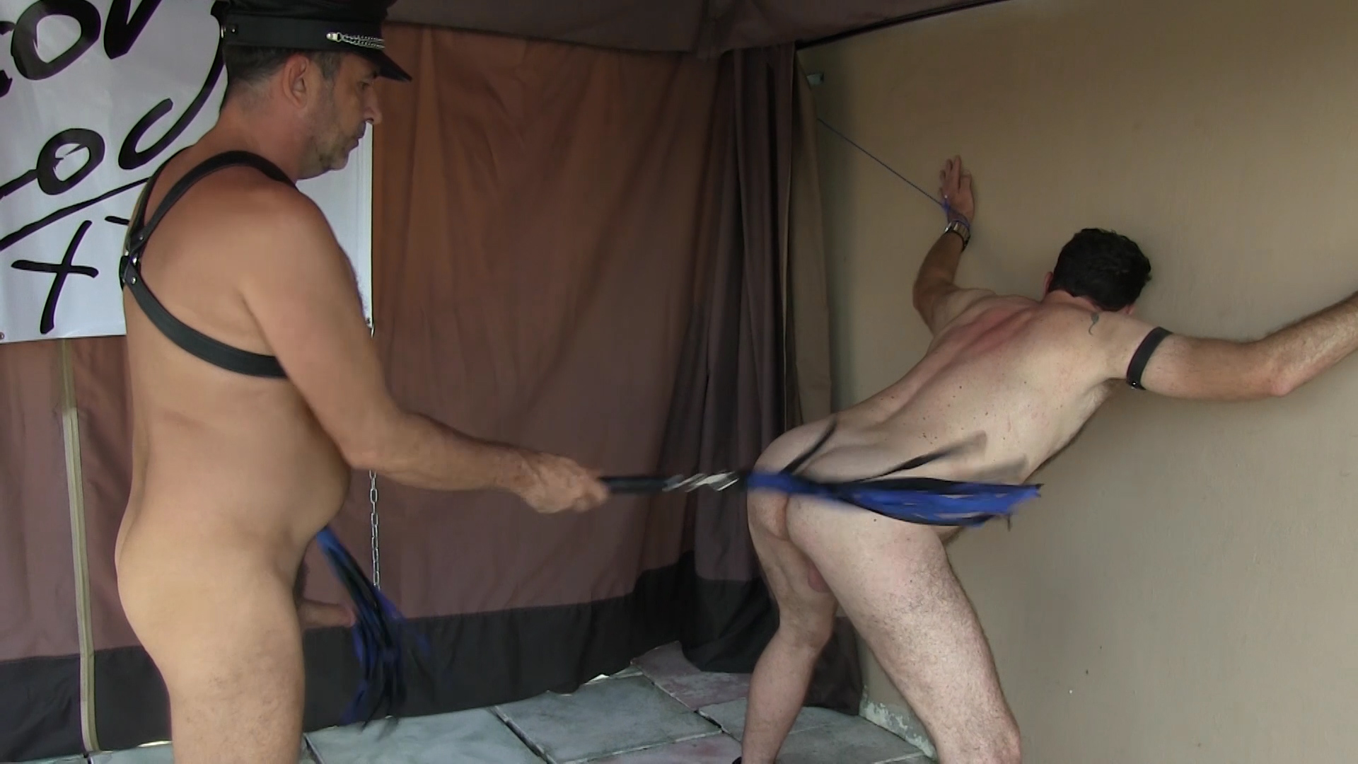 Scott Duran Flogged and Fucked Raw - VictorCodyXxx Student fucked hard gif