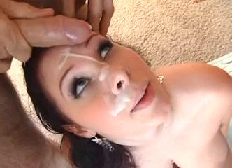 Bukkake - Breasty sweetheart - Large natural scoops Naked wonan fake boobs
