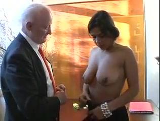 Ugly old pimp fucks ebony girl katee owen kateelife big tits bouncing