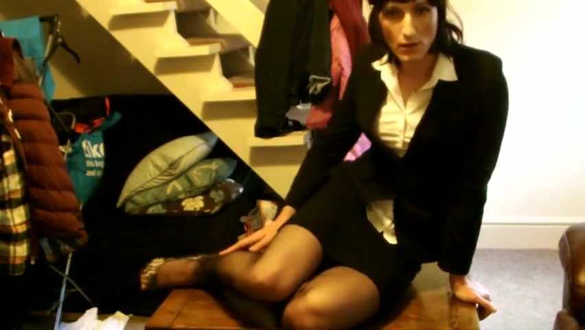 Tammy again in office outfit now with dildo shy naked girl sex