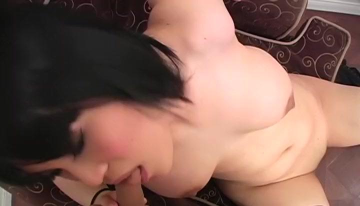 Amazing Asian Brunette xxx scene. Enjoy watching celeste shemale fucking video