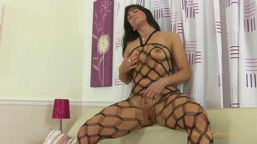 Lelani Tizzie in Masturbation Movie - AuntJudys Girls naked boobs shirt ripping gif superheroine defeated