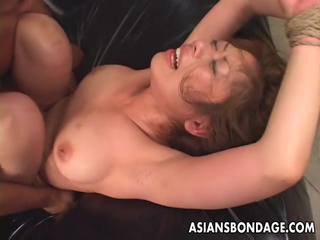 Tied up Asian babe gets fucked long and hard free xx rated videos of vicky bello