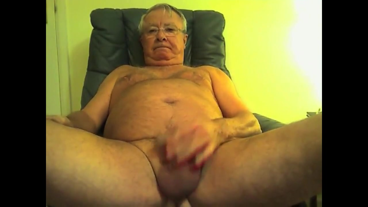 Grandpa show and cum why chalk your pool stick