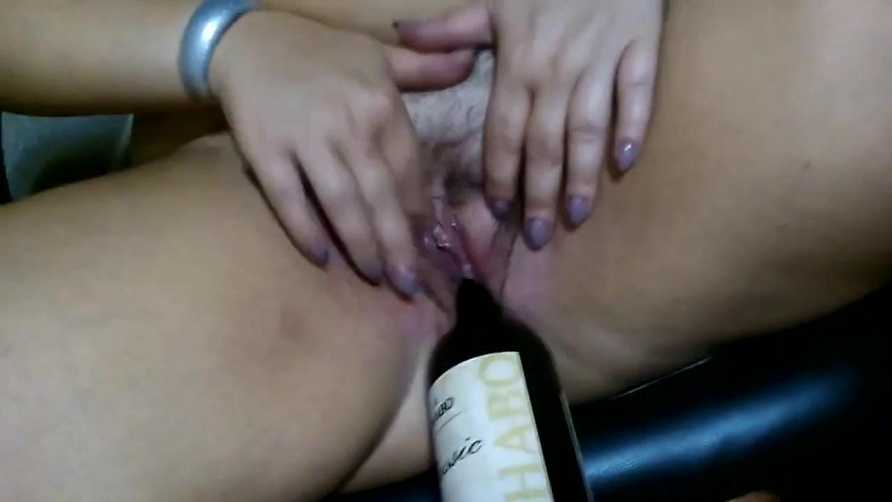 Wine bottle Sexy naked stephanie lazy town