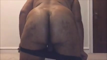 Late night with my bbc dildo two monster cocks in her ass
