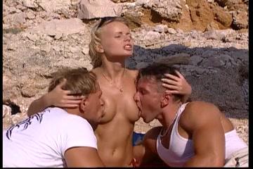 Dora Venter DP on the Beach Dominican women with big ass