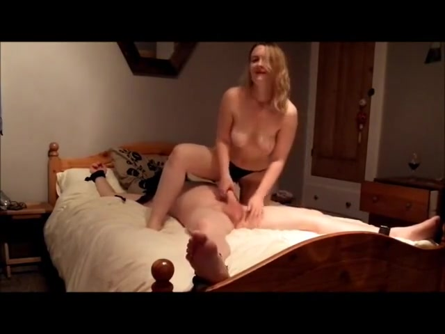 Dominant wife on top riding domination