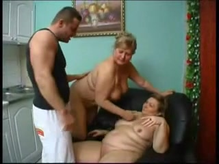 Grannies with juvenile boy raven haired girl takes cumshots