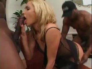 Sophie gives a background to satisfy two guys Gym babes big dick