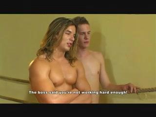 Boxer Bukkake Hot girl ass dildo