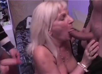Granny acquires two facual cumshots what happens when you masterbate to much