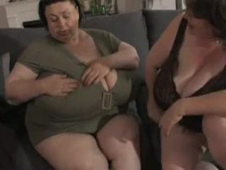 BBW grannies expose their massive knockers Karla spice nude pic