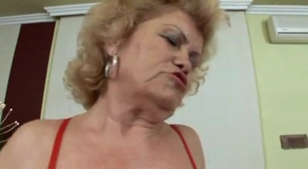 Hot Hirsute Granny