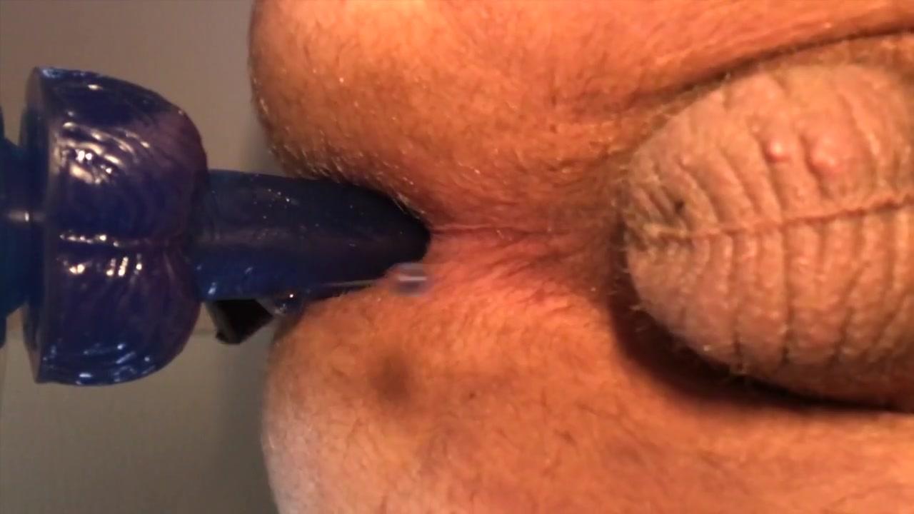 Cumming hard at end of riding dildo Mature latina picture