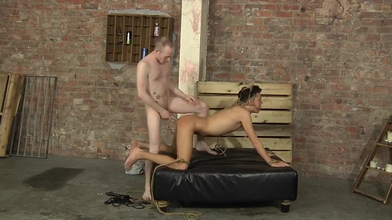 BDSM cute junior boy tied with rope gag pt. 2 Big Blk Teen Shemales