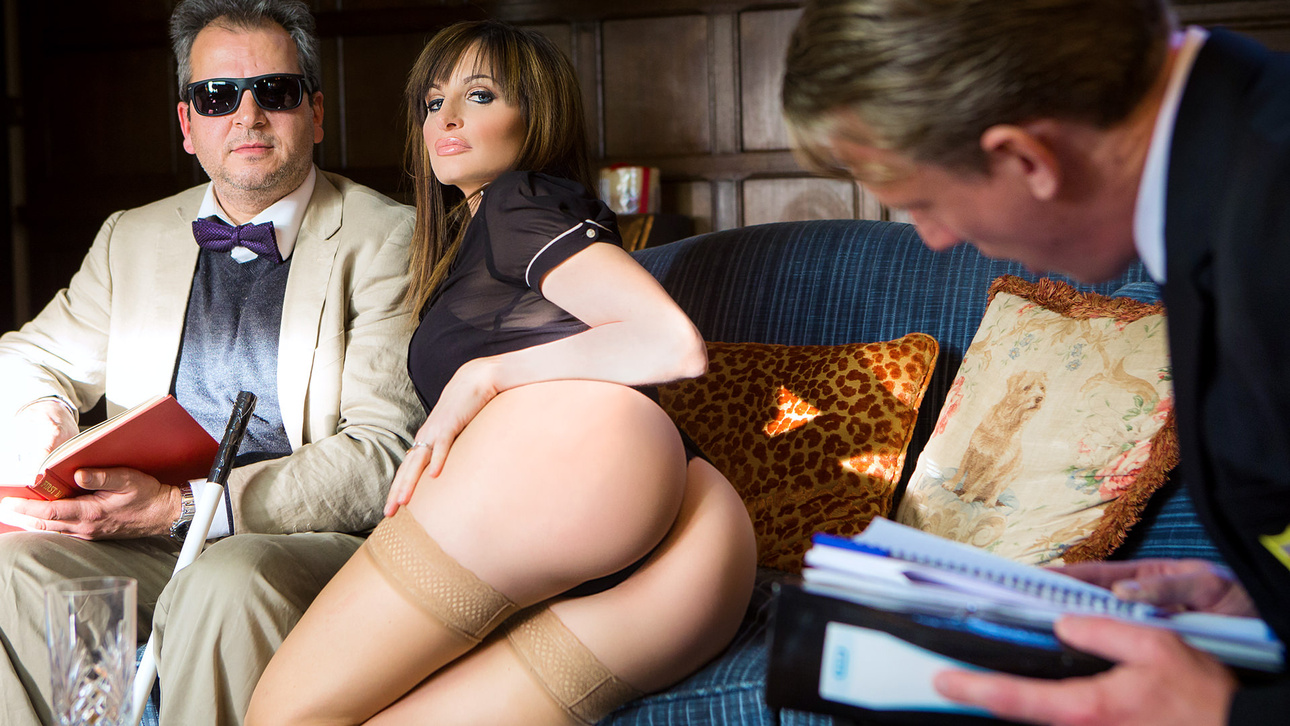 Ava Courcelles, Luke Hardy in The Blind Professor - DigitalPlayground Bubble Blonde