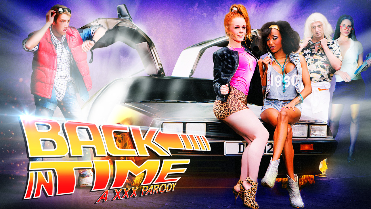 Alyssa Divine, Cathy Heaven, Danny D, Pascal White in Back In Time: A XXX Parody - DigitalPlayground