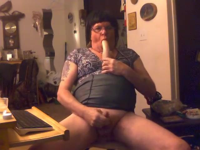 Crossdresser eating her cum fist german anal german fisting and screaming 2