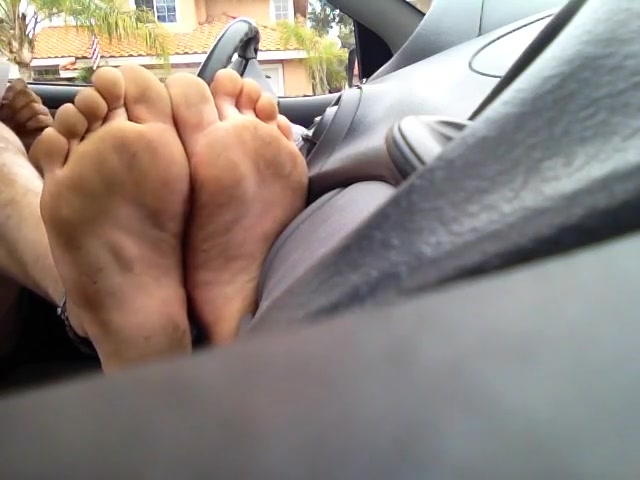 Car Feet porno teen en la isla