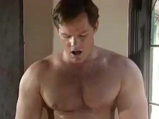 Muscle man fuck boy