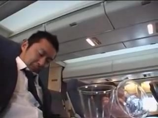 japanese stewardess handjob part 1 Bloopers In Porn Movies
