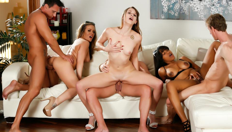 Zoey Laine in Neighborhood Swingers #16, Scene #01 - DevilsFilm Sex club ohio