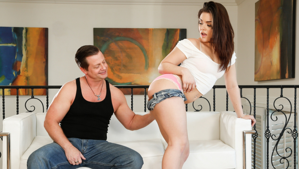 Eric Masterson in Tight Sweet Girl Pussy #11, Scene #02 - DevilsFilm Black dick stroked for cum