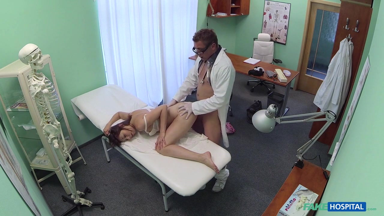 Meggie In Patient Wants Advice On Dildo Stuck Inside Her Pussy – FakeHospital