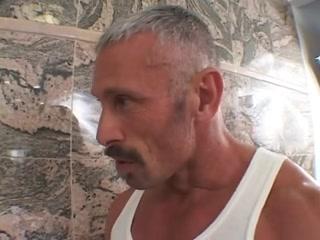 shower collision man on man free porn