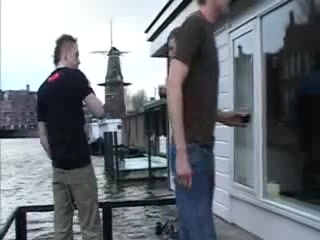 Boy-Friends in Amsterdam Gangbang home video