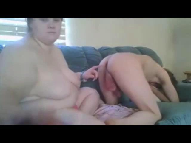 Fingering boyfriends asshole and jerking his dick Stepmother Got Stuck