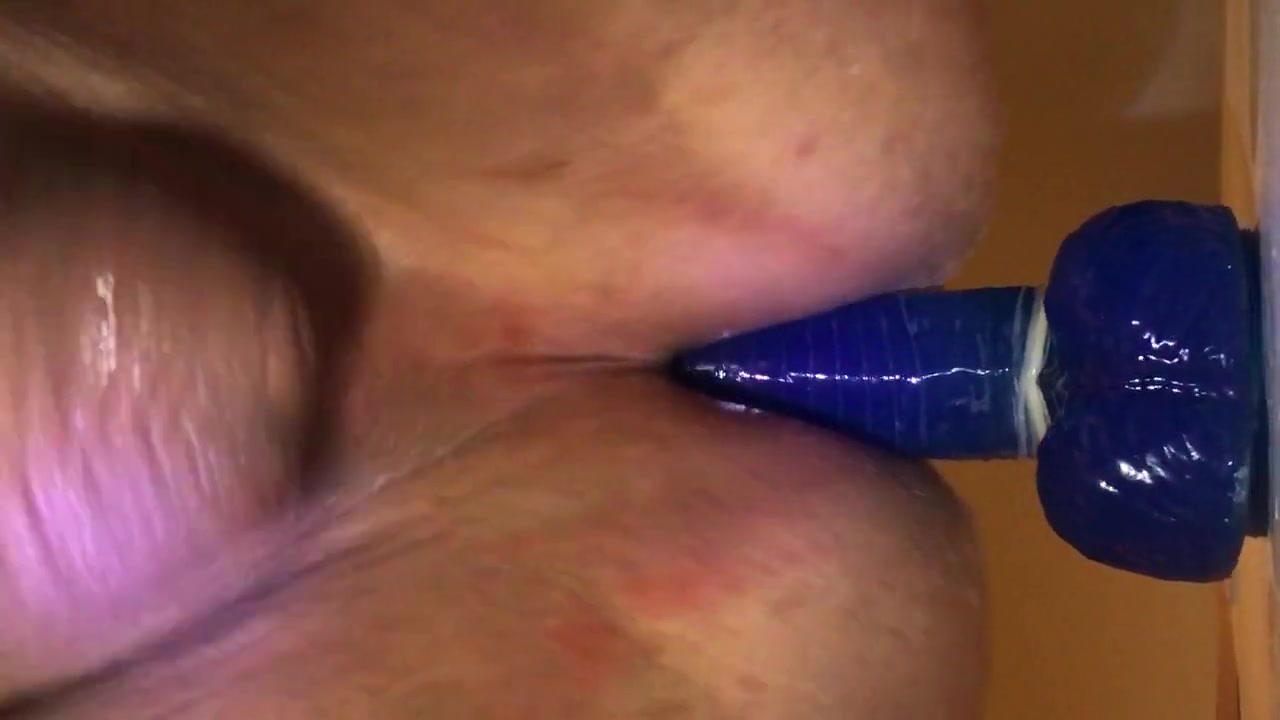 Ball dildo 12 inch dildo busty trap jerking cock until cumming