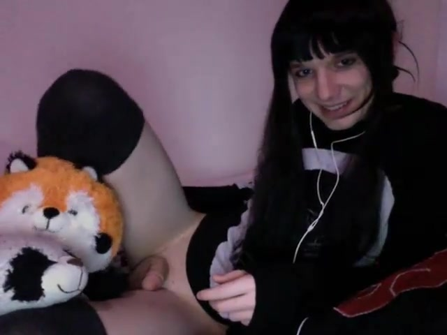 A cute emo who can self suck beautiful girl ki chudai