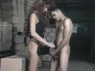 Amazing vintage Karen Dior Submissive BDSM sex with anal slut