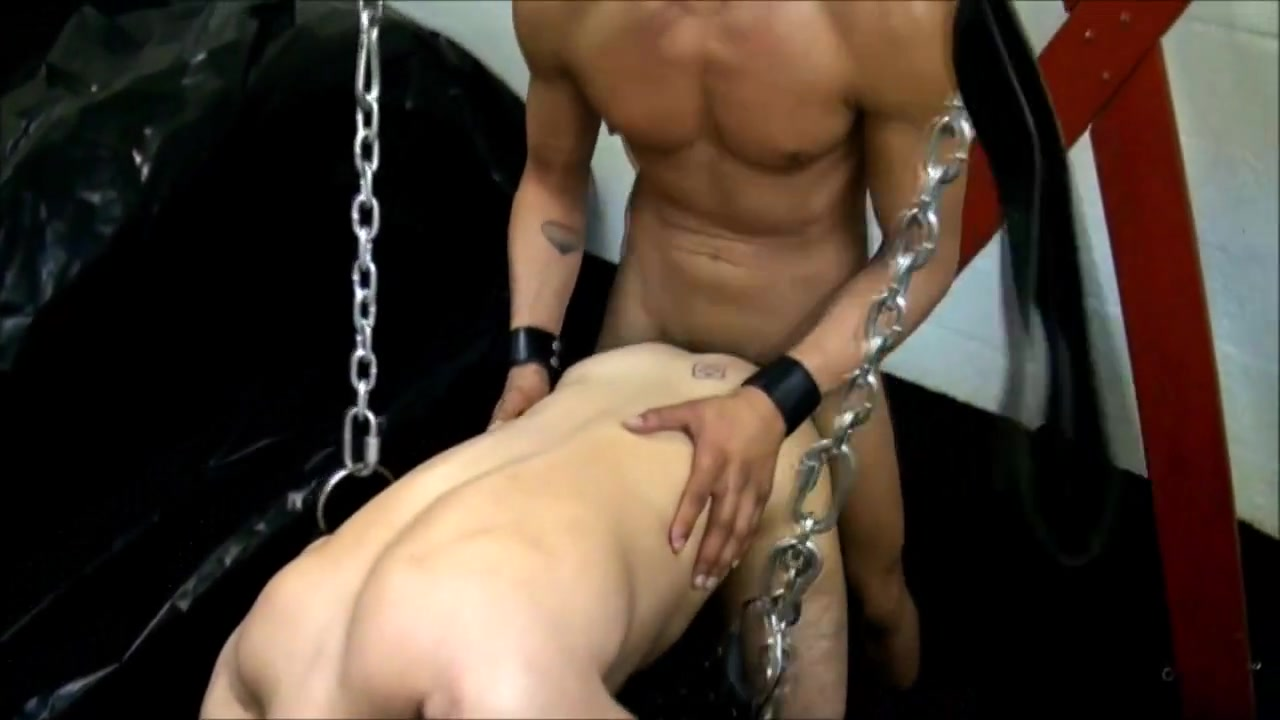 Bareback Leather 1 - Take me in the sling Teen pussy in Murcia