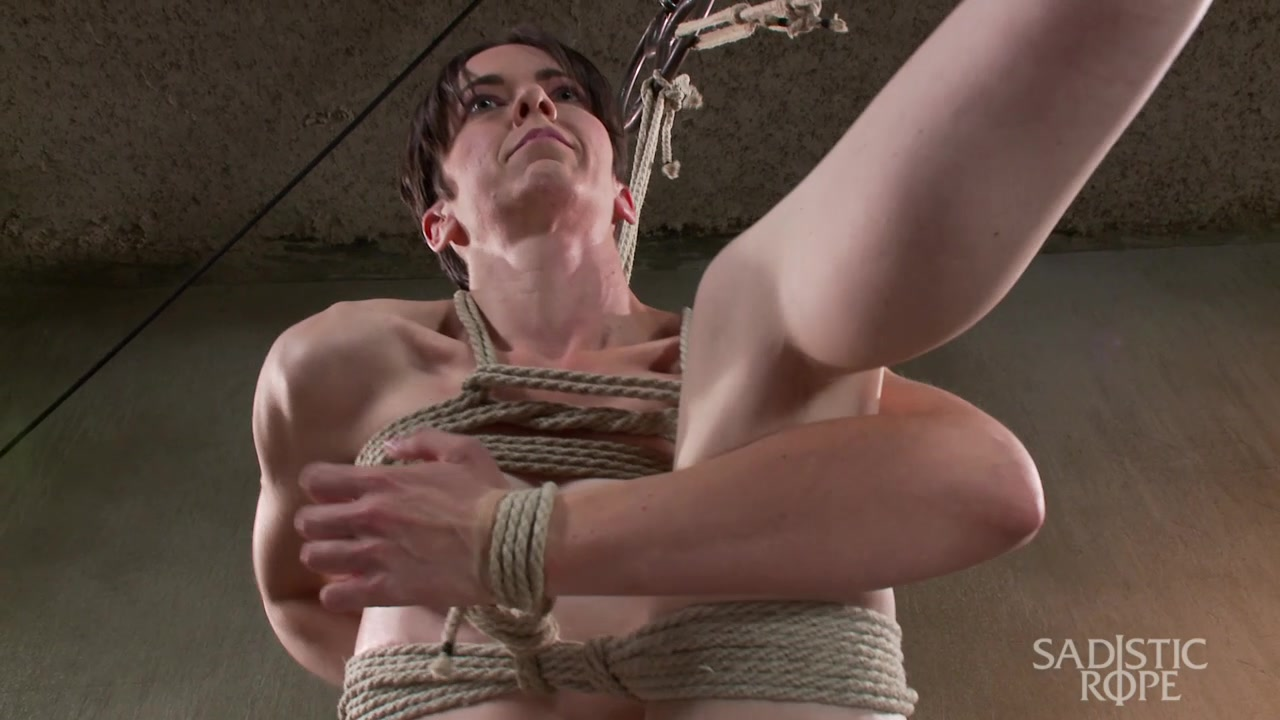 Newbie gets the full treatment Extreme bondage and brutal torment