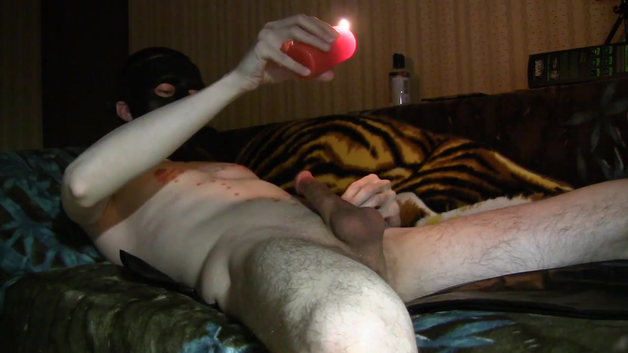 Jack off and hot candle (Cam1) Homemade wife porn tube