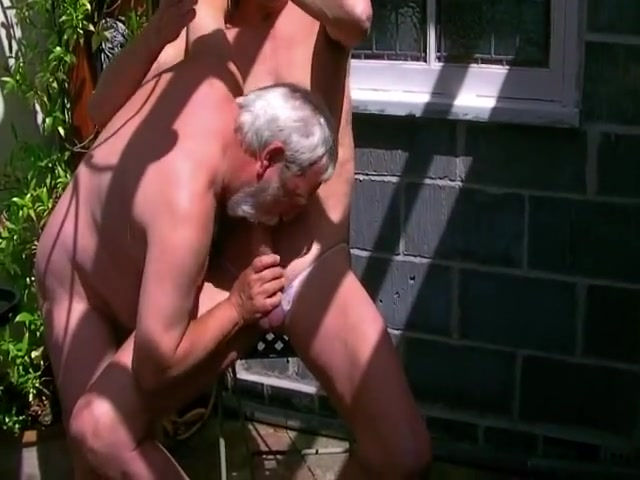 David and I getting down to some fun in the garden Swinger clubs go tampafl