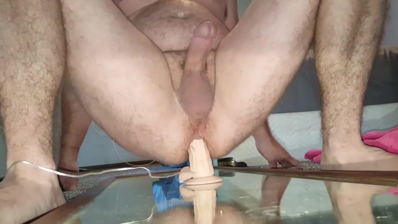 Dildo in my ass makes me cum in my mouth live bedroom sex vedio