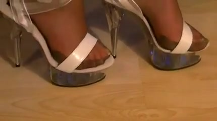 Stocking sandheels Tranny Mouth Full Of Cum